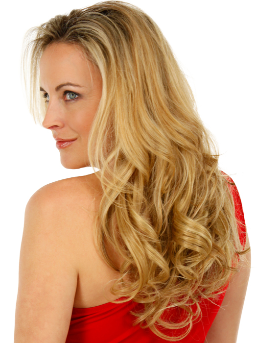 Thin and fine hair becomes thick and full | Color: R25
