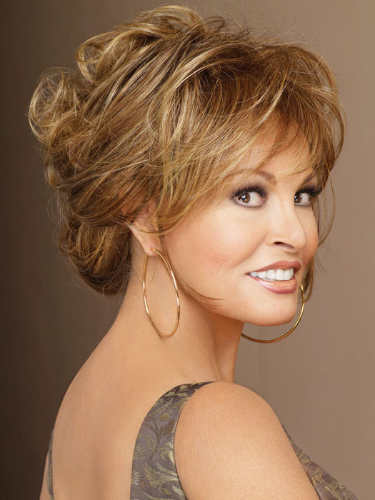 Always by Raquel Welch can be worn wavy, straight, up or down.