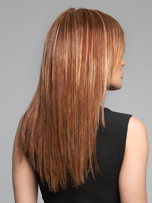 Style with a Heat Tool | Do Not Exceed 350 Degrees |  RL31/29- Fiery Copper- Copper With Gold Highlights
