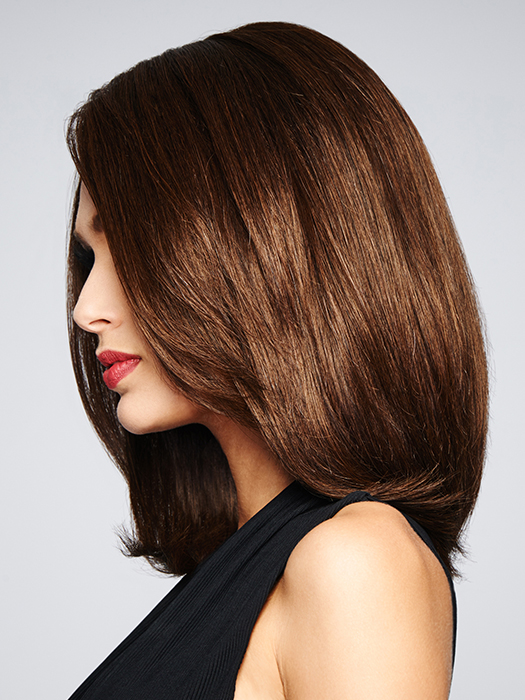 Monofilament Top - Creates the illusions of natural hair growth and allows you to part the hair in any direction | Color: R3025S