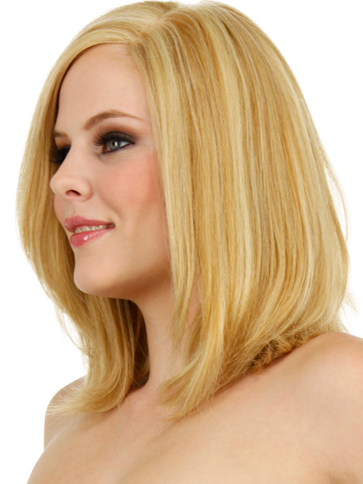 Color R25 - Ginger Blonde (Golden Blonde with subtle highlights)