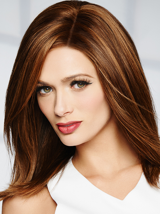 00% Human Hair – Feels incredibly soft and can be styled just like your own hair | Color: R829S+