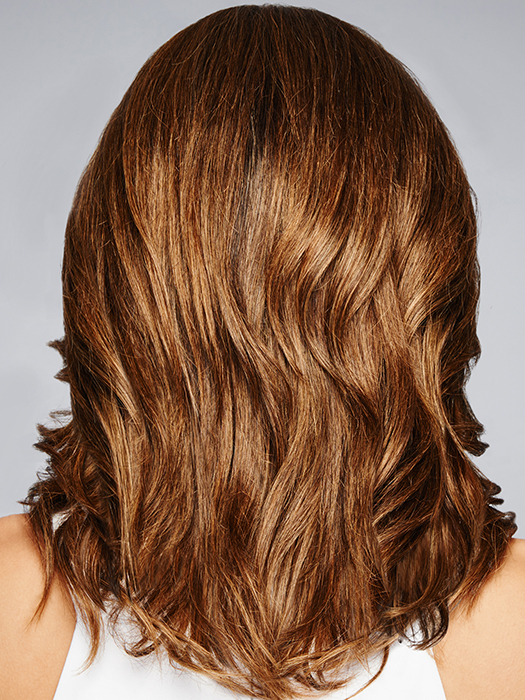 Monofilament Top – Creates the illusions of natural hair growth and allows you to part the hair in any direction | Color: R829S+
