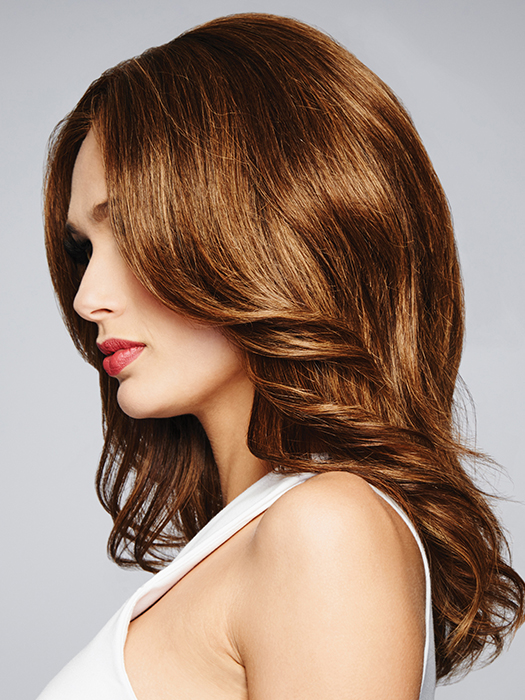 Sheer Indulgence Lace Front – Virtually invisible sheer lace front that gives you amazing off-the-face styling versatility | Color: R829S+