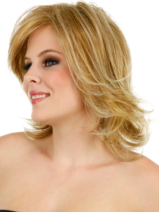 Embrace Wig Raquel Welch - Side View (Wigs.com exclusive photo)
