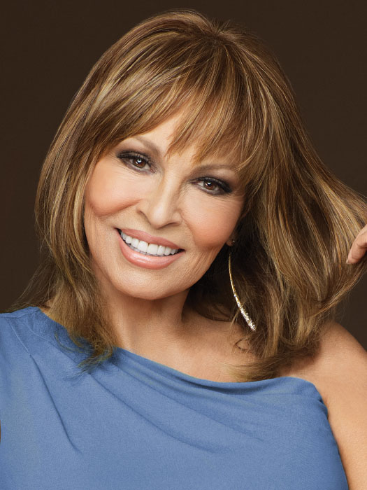 Faux Fringe by Raquel Welch: Color R3025S+ Glazed Cinnamon (Medium Reddish Brown with Ginger hightlights)