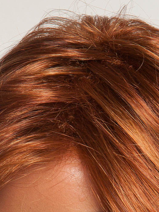 Pre-teasing masks basic cap beneath *Tip: consider wigs with a monofilament top for the illusion of natural hair growth from the scalp.