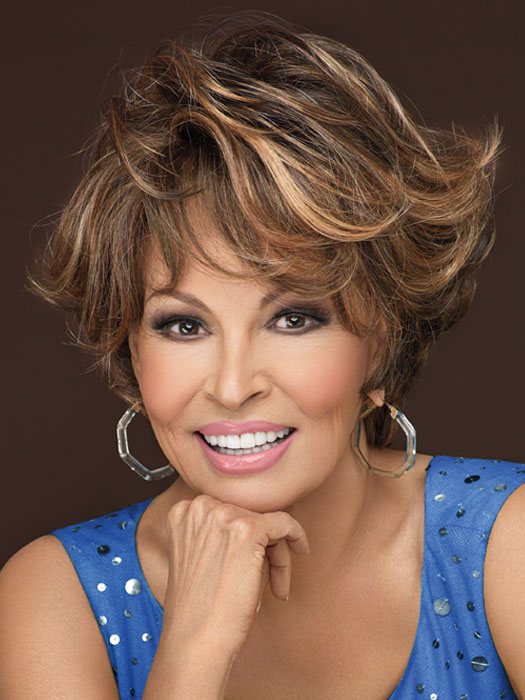 Fashion Statement by Raquel Welch: Color R829S+ Glazed Hazelnut (Medium Brown with Ginger highlights)