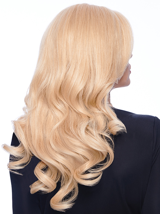 Soft, silky human hair that can be styles any way you choose  | Color: R9HH Light golden blonde