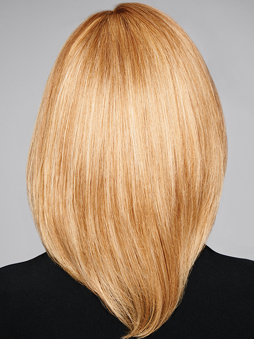 100% Hand Tied construction- Allows for natural movement and believability | Color: R25
