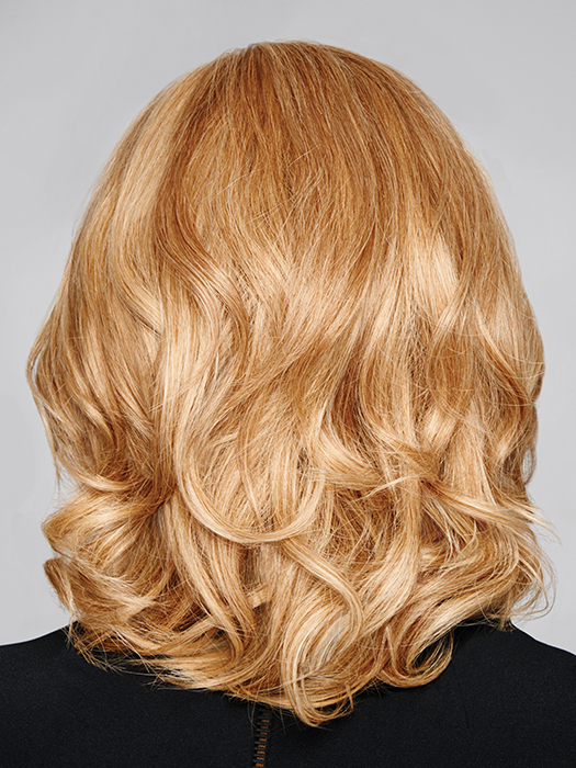 Human Hair- Offers maximum styling versatility, most natural, and longest lasting | Color: R25
