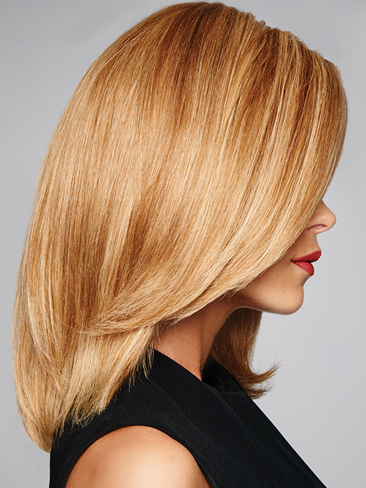 Monofilament- Gives the appearance of your own natural scalp | Color: R25