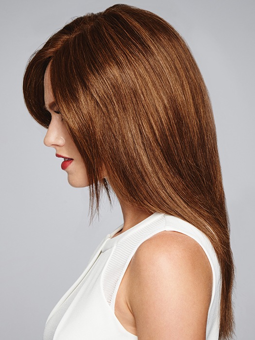 100% Human Hair – Feels incredibly soft and can be styled just like your own hair | Color: R6/30H