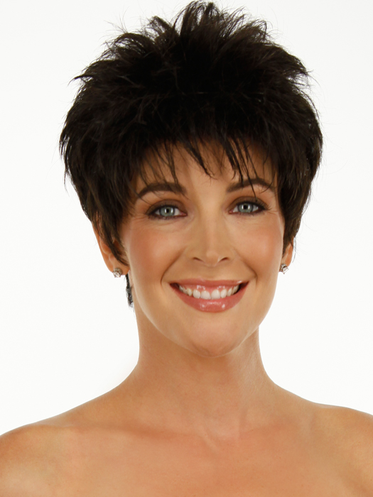 Power Wig Raquel Welch: Color R4 Midnight Brown (Darkest Brown)