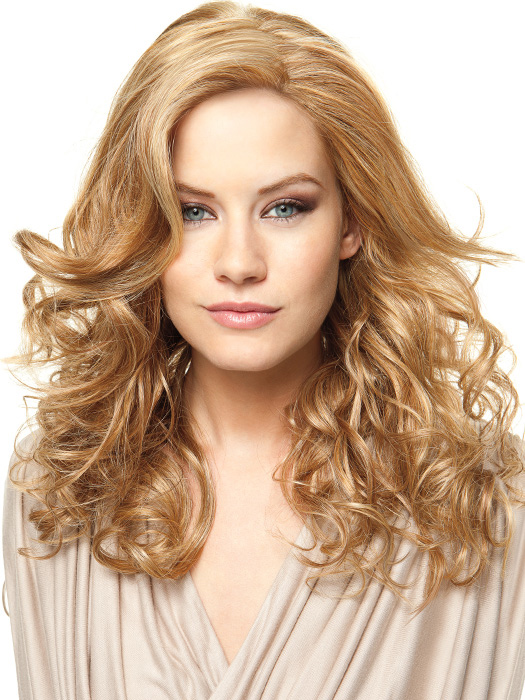 Styled wavy -- heat-friendly hair allows versatility (Note: Scene Stealer arrives straight – see photo #1)