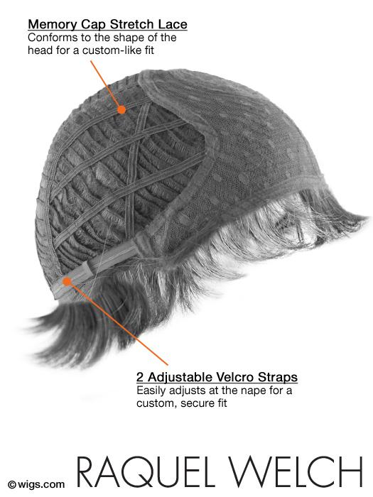 Raquel Welch Serene - Cap Details Side