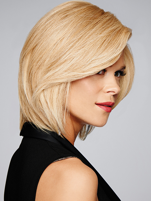 Human Hair- Offers maximum styling versatility, most natural, and longest lasting | Color: R14/88H