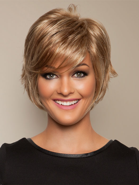 Salon Cool Wig by Raquel Welch: Color R14/25 Honey Ginger (Dark golden blonde with light gold highlights)