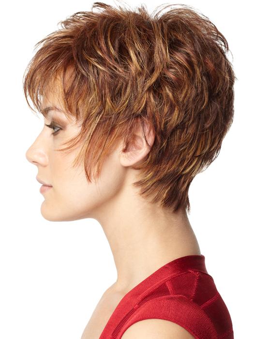 Color R3329S+ Glazed Auburn (Rich Dark Reddish Brown with Pale Peach Blonde highlights)