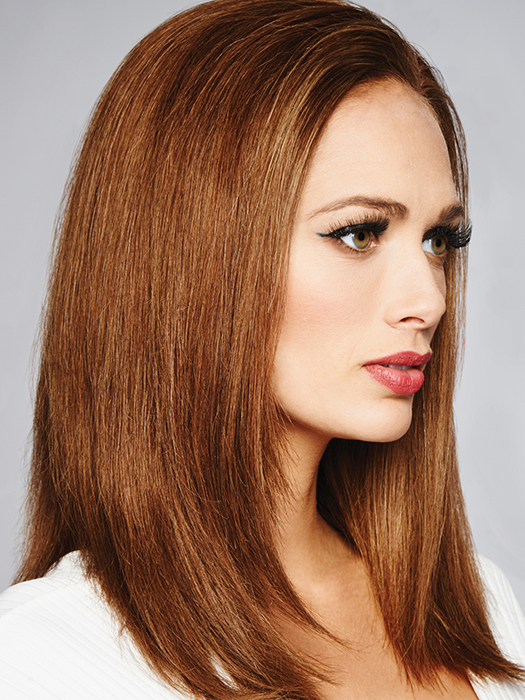 100% fine human hair   Color: R3025S+