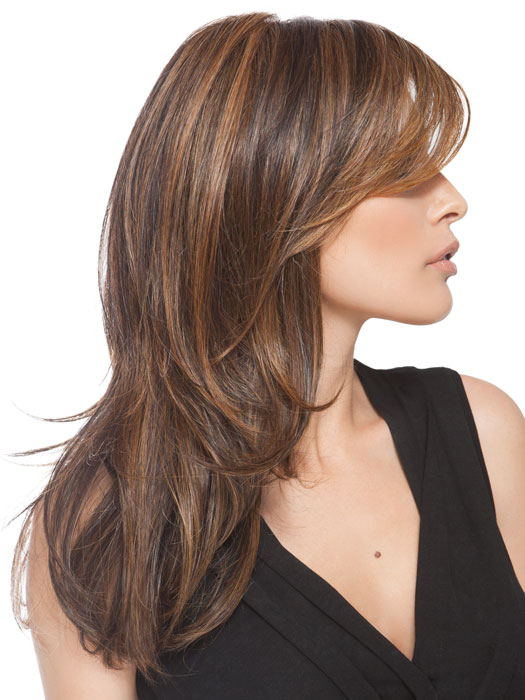 Naturally blended long layers