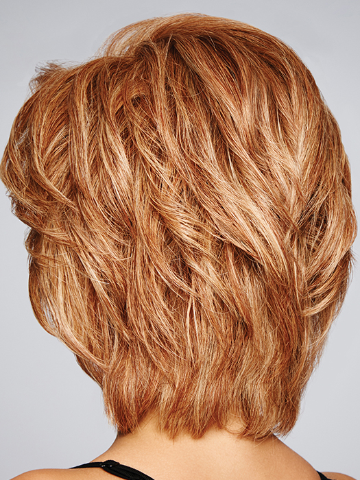 """Sheer Indulgence™ lace front is 1 ½"""" deep and allows the freedom of styling 