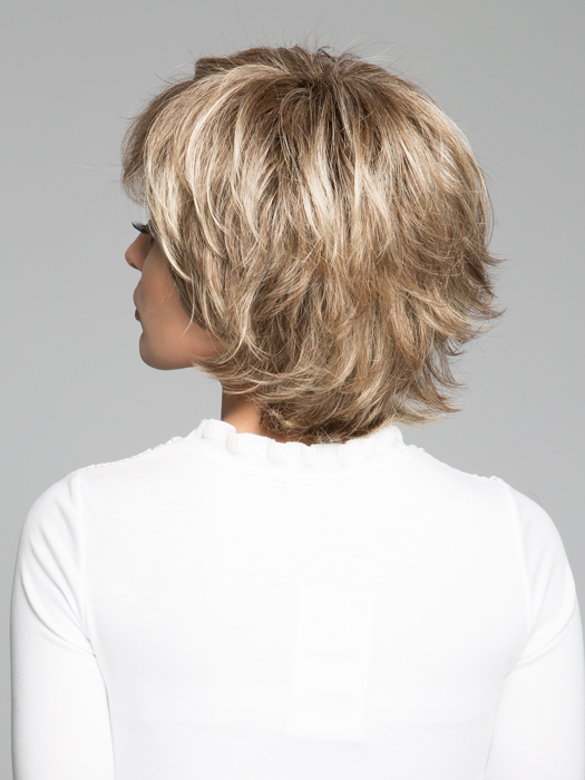 Top Color : SS12/20 Shaded Cappuccino- Light Golden Brown with Cool Blonde Highlights All Over & Dark Brown Roots