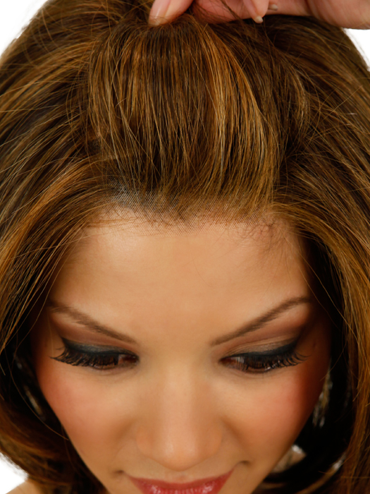 Close Up of Lace Front Part