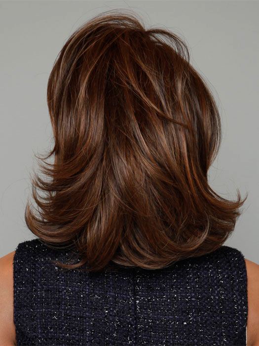 Color RL6/30 - Copper Mahogany (Dark Brown with soft, Coppery highlights)