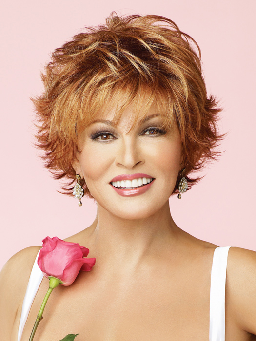 Voltage by Raquel Welch: Color R28S+ Glazed Fire (Fiery Red with Bright Red highlights)