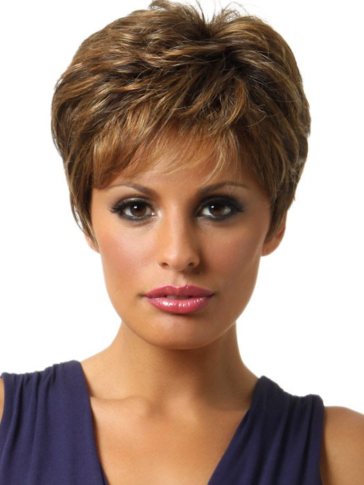 Raquel Winner Elite: Color R9S+ Glazed Mahogany (Medium-Dark Brown with subtle, warm highlights)