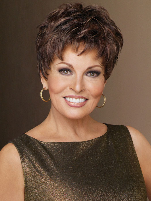 Winner Elite by Raquel Welch: Color R9S+ Glazed Mahogany (Medium-Dark Brown with subtle, warm highlights)