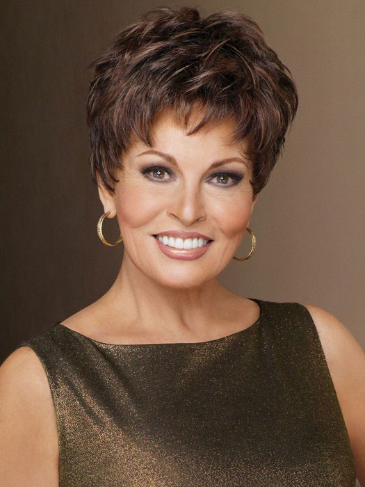 Winner Large Raquel Welch: Color R9S+ Glazed Mahogany (Dark Brown with subtle, warm highlights)