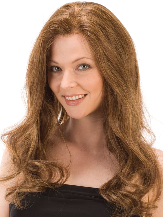 The professional lace front requires customization | Color: PINE-CONE