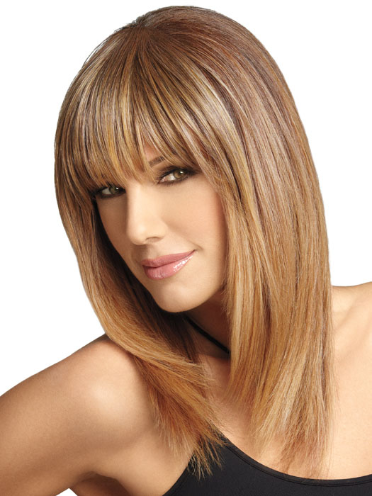 WOW Bangs by Daisy Fuentes | LUXHAIR: Color RD12R