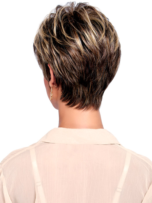 Wedge With Choppy Layers Hairstyle | apexwallpapers.com  Wedge With Chop...