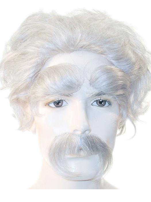 Einstein hair color